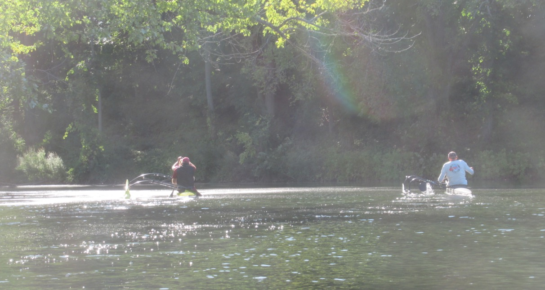 Coginchaug racing canoes